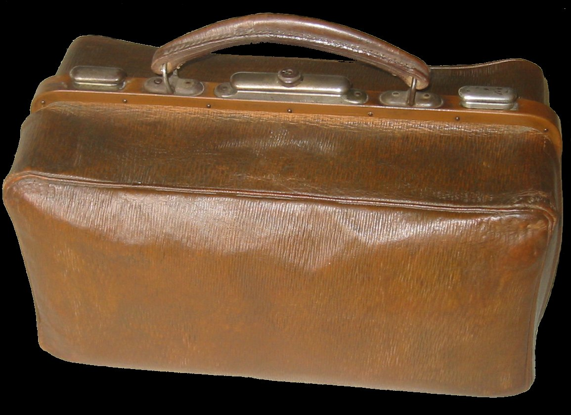Antique Leather Luggage Old Leather Doctor S Bags